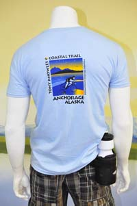 Bike Anchorage Tshirt Back