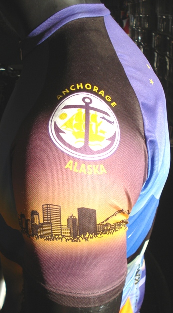 Alaska bicycle jersey